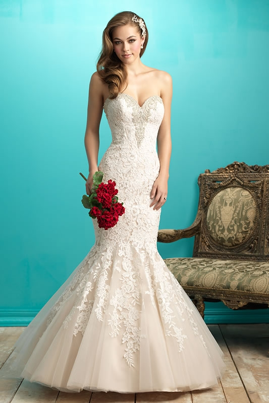Allure Wedding Dresses | Latest Allure Wedding Dresses And UK Stockists