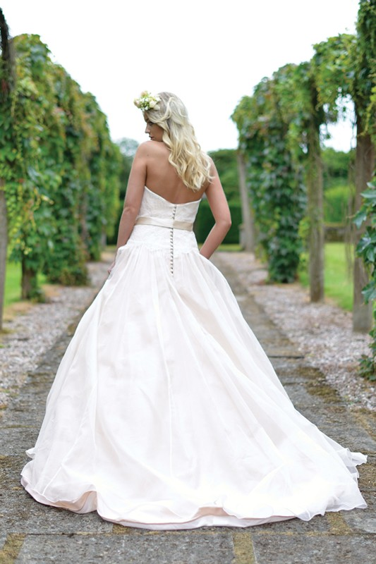 Ivory and co wedding dresses latest ivory and co wedding for Antique rose wedding dress
