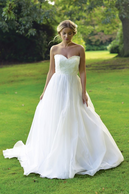 Ivory and co wedding dresses latest ivory and co wedding for Garden party wedding dress