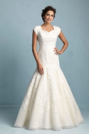 Allure Modest Wedding Dress M531