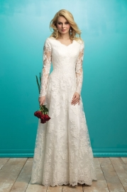 Allure Modest Wedding Dress M541