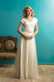 Allure Modest Wedding Dress M542