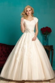 Allure Modest Wedding Dress M544