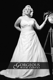 Gorgeous With Curves Wedding Dress Maggie
