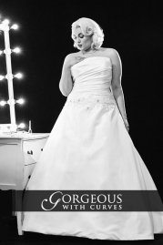 Gorgeous With Curves Wedding Dress Mariella