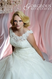 Gorgeous With Curves Wedding Dress Style 2416