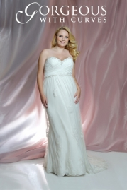 Gorgeous With Curves Wedding Dress Style 2421