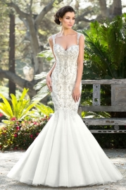 Ivoire Wedding Gown Style V1608 BARBIE