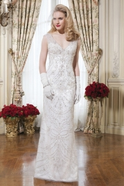 Justin Alexander Wedding Dress 8753