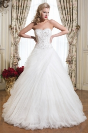 Justin Alexander Wedding Dress 8755