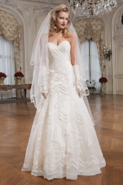 Justin Alexander Wedding Dress 8759