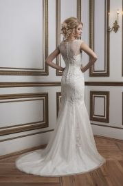 Justin Alexander Wedding Dress 8785 Back