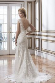 Justin Alexander Wedding Dress 8787 Back
