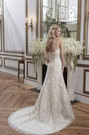 Justin Alexander Wedding Dress 8788 Back