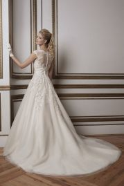 Justin Alexander Wedding Dress 8789 Back