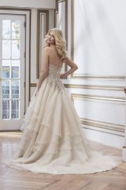 Justin Alexander Wedding Dress 8790 Back