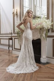 Justin Alexander Wedding Dress 8791 Back