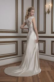 Justin Alexander Wedding Dress 8792 Back