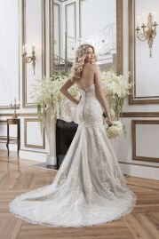 Justin Alexander Wedding Dress 8793 Back