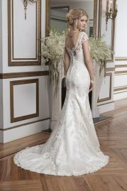 Justin Alexander Wedding Dress 8794 Back