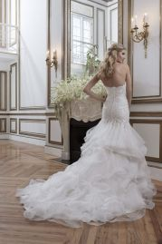 Justin Alexander Wedding Dress 8795 Back