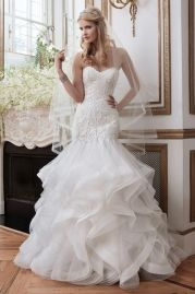 Justin Alexander Wedding Dress 8795