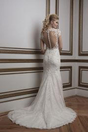 Justin Alexander Wedding Dress 8796 Back
