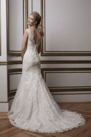 Justin Alexander Wedding Dress 8797 Back