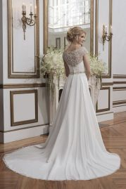 Justin Alexander Wedding Dress 8799 Back