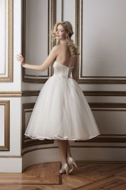 Justin Alexander Wedding Dress 8800 Back