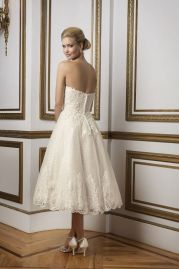 Justin Alexander Wedding Dress 8810 Back