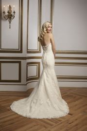 Justin Alexander Wedding Dress 8811 Back
