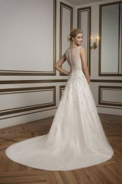 Justin Alexander Wedding Dress 8813 Back