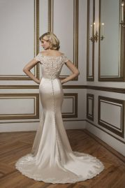 Justin Alexander Wedding Dress 8814 Back