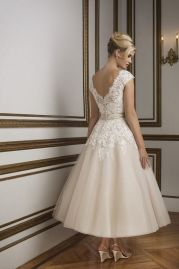 Justin Alexander Wedding Dress 8815 Back