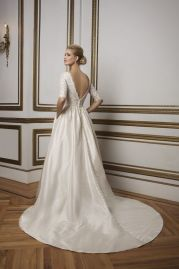 Justin Alexander Wedding Dress 8816 Back