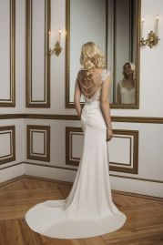 Justin Alexander Wedding Dress 8820 Back