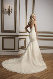 Justin Alexander Wedding Dress 8821 Back