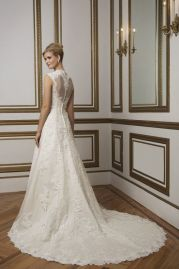 Justin Alexander Wedding Dress 8822 Back