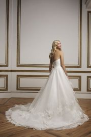 Justin Alexander Wedding Dress 8823 Back