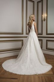 Justin Alexander Wedding Dress 8824 Back
