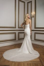 Justin Alexander Wedding Dress 8826 Back