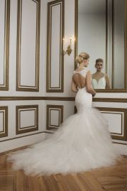 Justin Alexander Wedding Dress 8827 Back