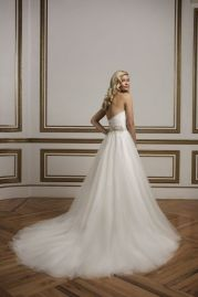 Justin Alexander Wedding Dress 8829 Back