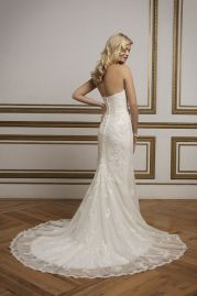 Justin Alexander Wedding Dress 8830 Back
