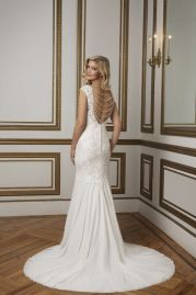 Justin Alexander Wedding Dress 8834 Back