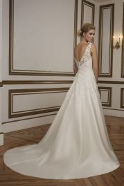 Justin Alexander Wedding Dress 8835 Back