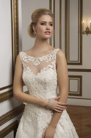 Justin Alexander Wedding Dress 8835 Detail