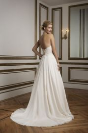 Justin Alexander Wedding Dress 8840 Back