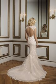 Justin Alexander Wedding Dress 8841 Back
